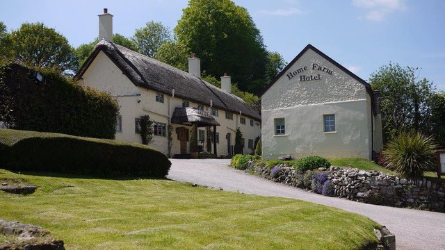 Home Farm Hotel Main building and stable block