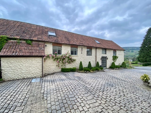 The stable building, Home Farm Hotel